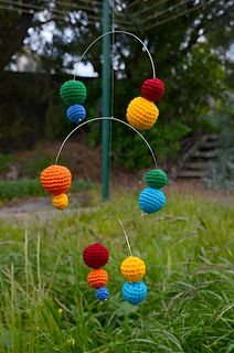 Children/Baby - - Crotchet- ColorFull Baby Mobile by Helen Scott FREE Pattern @ Ravelry