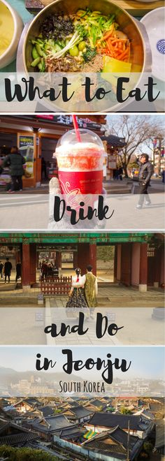 As far as cultural getaways in Korea go, there are few places as fun as Jeonju. Here's some of the best things to eat, see and do in Korea's culinary city. South Korea Travel, Asia Travel, Travel Tips, Travel Hacks, Travel Guides, Jeonju, Vietnam, Seoul Korea, Busan South Korea
