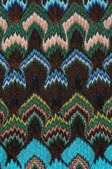 Вязание миссони спицами схемы