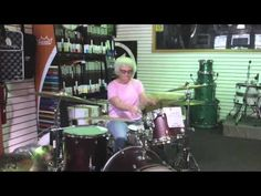 Mary from La Crosse, Wis., she likes to play the drums, don't you know. Great story today from NPR.