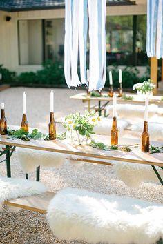 12 Wedding Candle Decor Ideas Worth Melting Over | Brit + Co