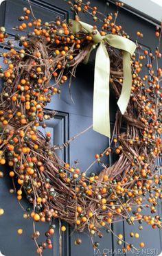 Cute idea for Autumn wreath