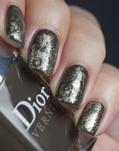 Dior Amazonia Swatches and Cling Film Manicure | A Polish Addict