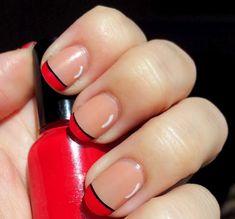French Nail Tips | See more nail designs at http://www.nailsss.com/french-nails/2/