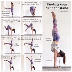 There are a lot of yoga poses and you might wonder if some are still exercised and applied. Yoga poses function and perform differently. Each pose is designed to develop one's flexibility and strength. Fitness Workouts, Yoga Fitness, Sport Fitness, Fitness Motivation, Easy Fitness, Health Fitness, Yoga Positionen, Yoga Handstand, Yoga Flow