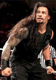 <3 Roman Reigns <3 love his hair! ;)