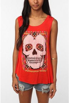 I saw a girl wearing something like this the other day... Such a cool shirt