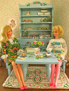 So - I bought my ticket today - going to see my groovy friend Barbie!! Francie's Flower Shop :)
