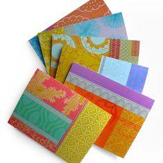 boho pattern notecards - fine day press