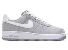 Nike Air Force 1 Suede Pack Wolf Grey / White