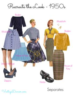 1950s Inspired Fashion: Recreate the Look