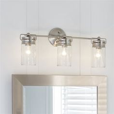 Allen roth 3 light vallymede brushed nickel bathroom vanity light allen roth 3 light vallymede brushed nickel bathroom vanity light aloadofball Choice Image