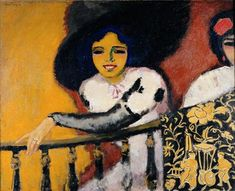 Kees van Dongen  In the Plaza, or Women at the Balustrade, 1911