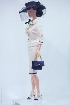 Gorgeous Chanel Barbie. Want this outfit in life size too!