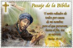 Vidas Santas: Santo Evangelio según san Mateo 10:22
