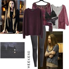 Designer Clothes, Shoes & Bags for Women Indie Outfits, Grunge Outfits, Fashion Outfits, Sexy Librarian, Retro, Style Me, Aria Montgomery, Style Inspiration, American Horror