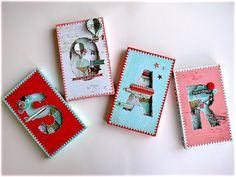 "Basic Grey Monogram Shadow Boxes - ""How To"" guide on the blog http://blog.basicgrey.com/?paged=3"