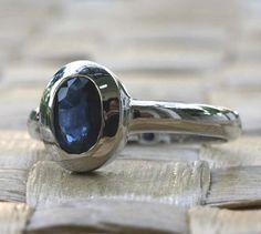 sapphire ring.  LOVE!
