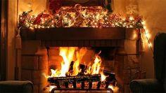 Lighting the fire for Christmas