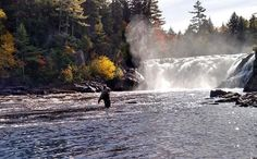 I love Maine. #Maine #flyfishing #fishME #fall