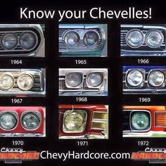 Chevelle year ID