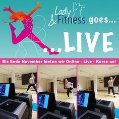 Unsere Online-LIVE-Kurse sind mit Erfolg gestartet und machen nicht nur euch, sondern auch uns riesig Spaß! 😃 Schaut doch mal rein! 🤗 ‼️ Auch Nichtmitglieder können sehr gerne per 10er-Karte teilnehmen, meldet Euch telefonisch oder per E-Mail bei uns ‼️ #LadyFitnessWerne #Werne #TrainingzuHause #LiveKurse #stayhome #staysafe #gemeinsamgegenCorona