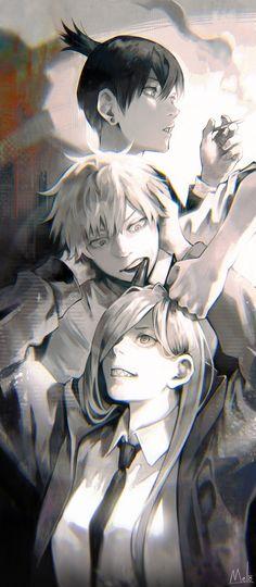 Manga Art, Anime Art, Guy Pictures, Manga Games, Chainsaw, Twitter, Location History, Cool Art, Kawaii