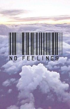 No feelings barcode