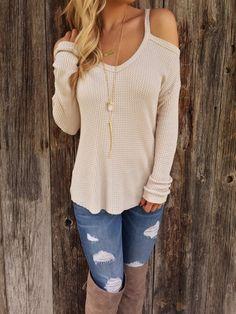 Isla - V-Neck Sweater