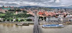 This private tour will start with a pick up in your hotel in Vienna and your driver will take you on a private tour to the Slovak capital - Bratislava. See all the highlights of this beautiful city and then get back to Vienna by boat, train, or again Day Trips From Vienna, Vienna Hotel, European River Cruises, Bratislava Slovakia, Danube River, Thing 1, The Beautiful Country, Beautiful Places, Central Europe
