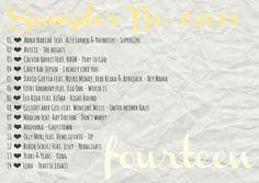 4more  Sampler No. 6/2015  {fourteen} Carly Rae Jepsen, David Guetta, Flo Rida, Madcon, Madonna & much more