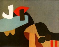 """Afro Basaldella — Libro """"Baudelaire"""" - L'invitation au voyage (A) 1975 Abstract Styles, Abstract Art, Abstract Paintings, Art Afro, Modern Art, Contemporary Art, Cleveland Museum Of Art, Italian Artist, Mural Painting"""