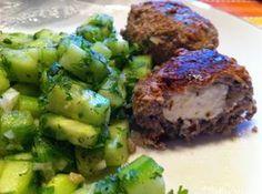 Wessels Küchenwelt: Feta-Hackbällchen + Gurkensalat mit Kerbel