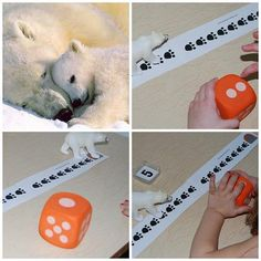 Polar Bear Activities and Books for Preschool! Polar Bear Math Game for Preschool or Kindergarten.  http://thepreschooltoolboxblog.com/polar-bear-activities-books-preschool/