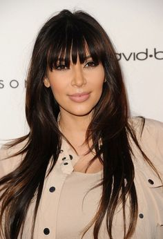 Full fringe hairstyles 2014 easy to style long, medium and short haircuts with bangs. Full fringe hairstyles beautiful new trend setting haircuts 2014 for Layered Hair With Bangs, Long Hair With Bangs, Haircuts With Bangs, Long Hair Cuts, Full Bangs, Straight Bangs, Minka Kelly, Jennifer Aniston, Jennifer Lopez