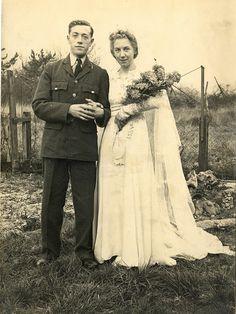 Wartime Wedding Couple