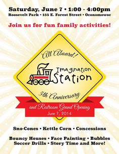 5 Year Anniversary of Imagination Station Celebration • The Lake Country Mom