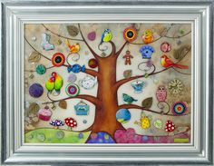 Tree of Life Gifts. Beautiful and quirky and love the gingerbread man! £995 framed