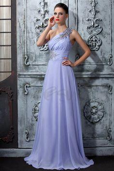 Aライン床まで届く長さブラシドレーン帝国ルバのプロム/ホームカミングドレス 商品番号:11059414 価格: JPY¥ 15634