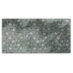Flying Chess Master Hearts Rectangle Tablecloth: Large Dining Room Kitchen Woven Polyester Custom Print