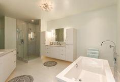 Spectacular Modern Bathroom Renovation in Denver - JM Kitchen and Bath https://www.jmwoodworks.com/spectacular-modern-bathroom-renovation-in-denver/
