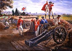 Battle of the Capes. On September 29, Washington moved the army closer to Yorktown and British gunners opened up on the infantry. Throughout the day several British cannon fired on the Americans but there were few casualties. Fire was also exchanged between American riflemen and Hessian Jagers.