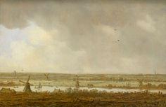 Polderlandschap, Jan van Goyen, 1644