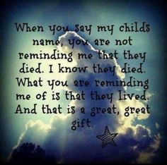 Always remembering my Son