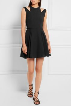 Giambattista Valli | Cuout crepe mini dress | NET-A-PORTER.COM
