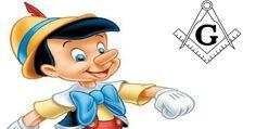 "La Masonería en ""Pinocho"" Freemasonry, Donald Duck, Smurfs, Tarot, Disney Characters, Fictional Characters, Disney Princess, Occult Symbols, Wooden Dummy"