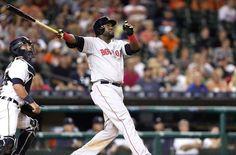 Boston Red Sox: David Ortiz Send Off at Yankee Stadium Will Be a Class Act David Ortiz, Yankees Fan, Yankee Stadium, Boston Red Sox, Acting, Socks, Baseball Cards, Mlb, Sock