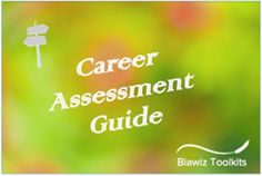 This Guide will help you to assess your career vision and where you are currently allowing you to develop an impactful career plan. #CareerAssessment Career Assessment, Food And Beverage Industry, Career Planning, How To Plan, Free