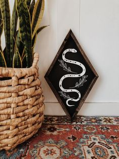 figdays:Snake Charmer Wall Hanging //  NorthwoodSupply   #coffee #coffeemug #mug #cafe #espresso #photography #coffeeaddict #yummy #barista