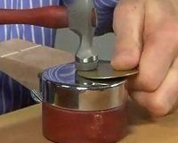 6 Tips for Hammering and Forming Metal from Master Metalsmith Bill Fretz - Jewelry Making Daily - Jewelry Making Daily